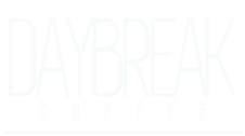 Daybreak Coffee LOGO white